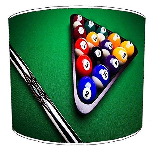 Premier Lampshades 30,5cm Decke Billiard, Pool, Snooker, 8 Ball Childrens Lampenschirme 15