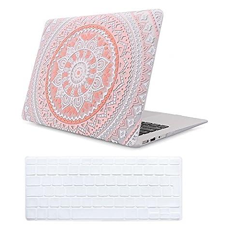 Coque MacBook Pro 13 Retina Case Rose , iCasso Style