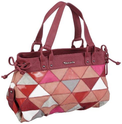 Tamaris Oana Shopper A-1-160-63-303, Damen Shopper 38x24x13 cm (B x H x T) Rot (red comb 597)