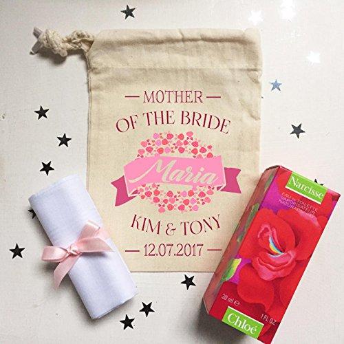 (Pre gefüllt personalisierbar Mutter der Braut oder Bräutigam Chloe Parfum Geschenkset und persönlichen Tasche)
