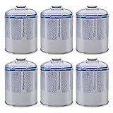 Cadac 6 x Schraubkartusche 445 g Ventil Gas Kartusche Kocher Butan Propan Mix