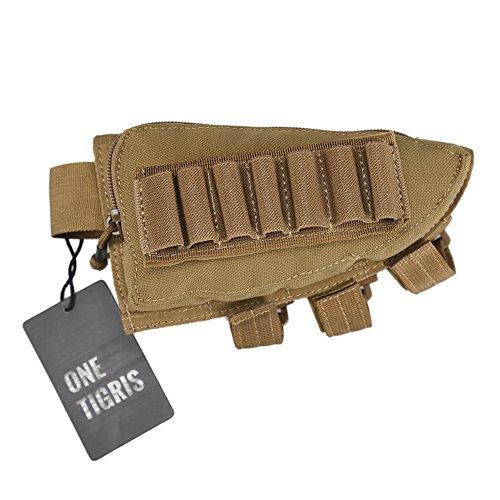OneTigris Taktische Shell Holder Pouch Gewehrschaft-Tasche (Khaki) -