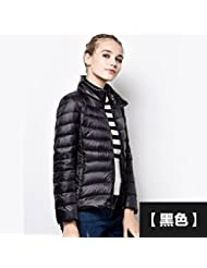 wjp Mujeres Ultra Lightweight Stop fbarer Down Jacket Outwear búfer Chaqueta de plumón W de 2797, color Wassermelone rot, tamaño XXXL