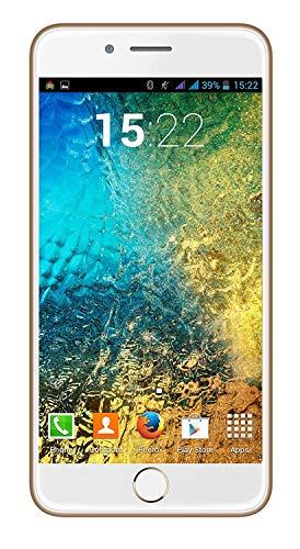 I Kall K1 Smartphone (1GB RAM, 8GB Storage) (Gold)