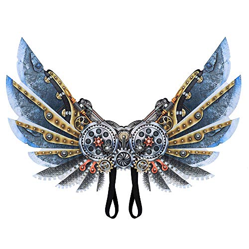 Tyoumay Halloween Kostüm Cosplay Wings für Erwachsene Kinder,Cosplay Wings Kostüm Requisiten Engel Adler Flügel Simulation Party Favor Cosplay Party Kostüm Zubehör