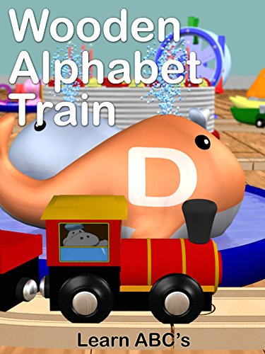 Image of Wooden Alphabet Train - Learn ABC's