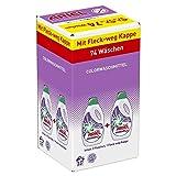 Ariel Colorwaschmittel Flüssig, 1er Pack (1 x 74 Waschladungen)