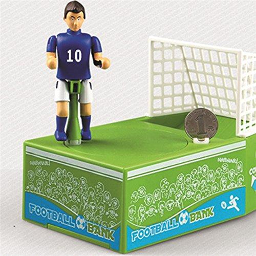 Baby Geld Banken, Cartoon Fußball Shooting Coin Bank Cute sparen Sie Geld Boxen Geld Bank Für Kinder Kind (Jar Spielen Geld)