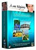 A vos régions - Méditerranée : Provence - Camargue - Ombrie - Corse du Sud (coffret 4 DVD)