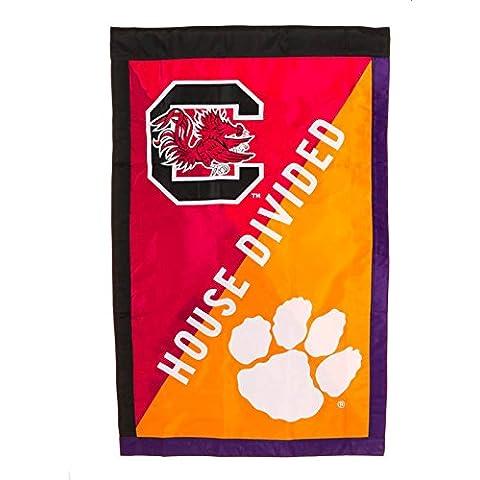 South Carolina VS. Clemson House Flag