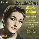 Puccini : La Boh�me (extraits). Callas, di Stefano, Panerai, Votto.