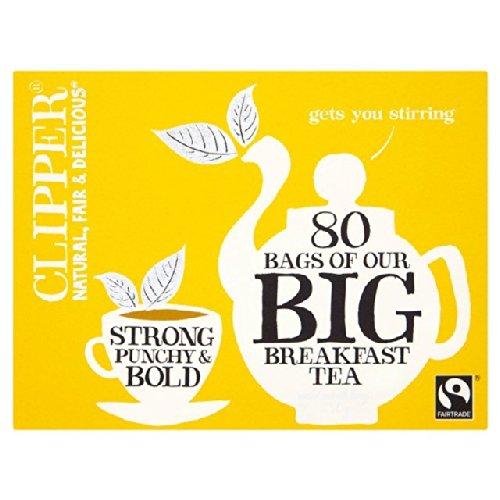 Clipper Fairtrade Big Breakfast Tea80 per pack -