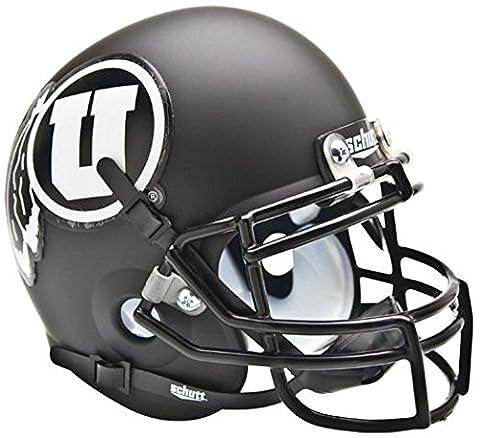 NCAA Utah Utes Collectible Alt 2 Mini Helmet, Matte