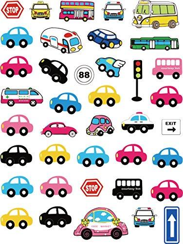 Parches coches Hergon dibujos animados ropa niños