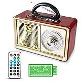 Radio MP3 Portable PRUNUS Bluetooth M-110BT FM/AM(MW) SW. avec façade Classique...