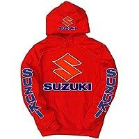 Suzuki -  Felpa con cappuccio  - Uomo