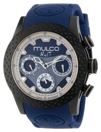 MULCO Unisex MW5-1962-045 Analogique Cronografo Swiss Orologio