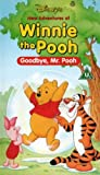 Video - Winnie The Pooh: Goodbye Mr Pooh [VHS]