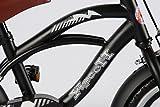 12 Zoll Fahrrad Qualitäts Kinderfahrrad matt schwarz bike Black Cruiser - 2