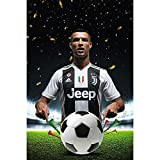 Earendel Superstar cristiano is coming. Ronaldo Joins Juventus Memorial HD poster fans Home Decoration sport Wall Stickers