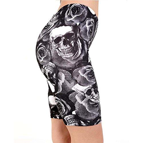 Blush Avenue - Short de sport - Femme Skull Ross
