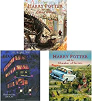 Harry Potter And The Goblet Of Fire: Illustrated Edition + Harry Potter And The Prisoner Of Azkaban: Illustrat