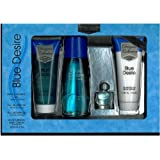 Blue Desire Gift Set 4 Pieces [3.4 Fl. Oz. Eau De Parfum Spray +3.4 Oz. Gel+.5 Oz. Miniature +3.4 Oz. Body Lotion...