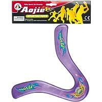 Partner Jouet - A1200421 - Jeu de Plein Air - Boomerang Transparent Funny - Coloris aléatoire
