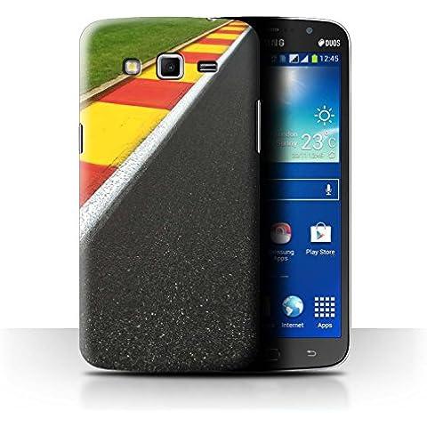 Carcasa/Funda STUFF4 dura para el Samsung Galaxy Mega 5.8 / serie: Pista Carreras Foto - Apex/Chicane