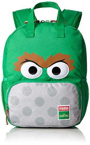 Puma Kinder Sesame Street Backpack Rucksack, Bright Green-Oscar, 29 x 36 x 3 cm (Kinder Puma Rucksack)