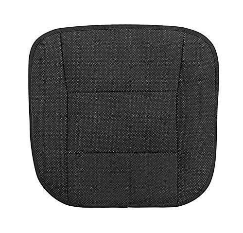 Ergocar Organiseurs pour Voiture Kick Mats cuir PU de luxe Protecteur de Si/ège Arri/ère avec porte-tablette pliable Imperm/éable Organisateurs de Voiture Rangement Beige - 1 Pack