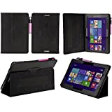 Prosys PU back stand Case for Asus Transformer Book T100 (T100TA 25.65 cm 10.1) - Black