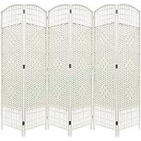 Paneles plegables de mimbre, para privacidad, división, natural, 5 - Muebles de Dormitorio precios