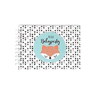 Gästebuch zur Babyparty, Erinnerungsalbum Babyshower, Geschenk Babyparty, Geschenk Schwangerschaft, Spiel Baby Shower