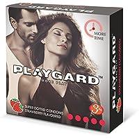 Playgard More Time Superdotted Kondome - 3 Count (Packung mit 10, Erdbeere) preisvergleich bei billige-tabletten.eu