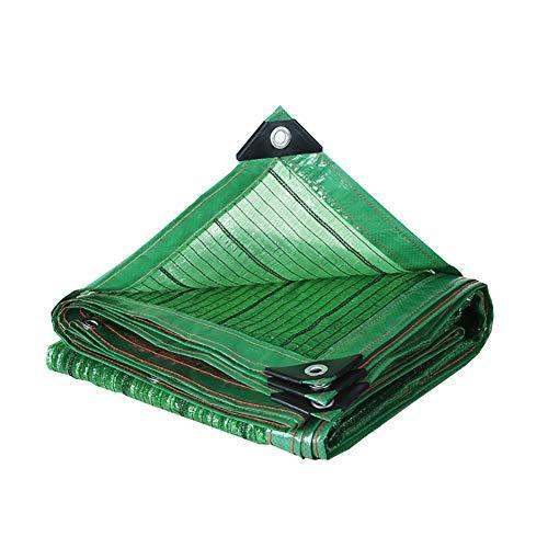 Schattierungsnetz YXX- Green Summer Sun Shade Netting mit Tüllen, Sunblock Schatten Tuch für Garten-Blumen-Anlage Covers (größe : 3x4m)