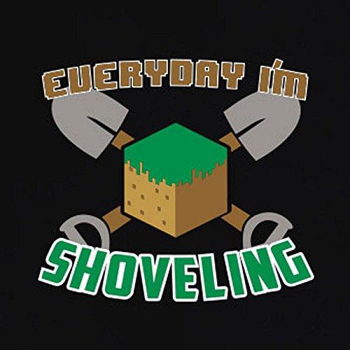 TEXLAB - Shoveling - Damen T-Shirt Schwarz