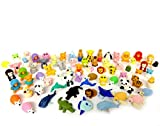 Iwako Erasers Animal Overstock (Pack of 20) x 5 (Total 100pc) Many Value Set