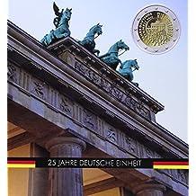 """Münzalbum PRESSO für 5 x 2-Euro-Gedenkmünzen """"25. Jahre Deutsche Einheit"""""""