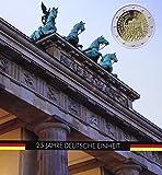 Leuchtturm Münzalbum PRESSO für 5 x 2-Euro-Gedenkmünzen 25. Jahre Deutsche Einheit