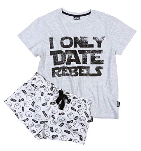 Womens Star Wars I Only Date Rebels Shortie Pyjama Set