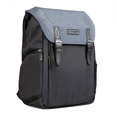Inateck zweischichtiger Kamera-Rucksack mit Laptop-Fach, Reiserucksack 15