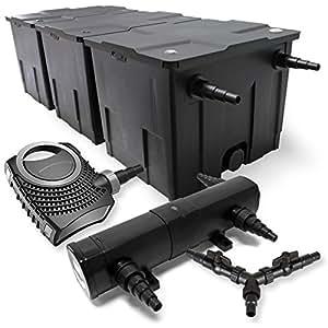 SunSun Filter Set 90000l Teich 36W Teichklärer NEO10000 80W Pumpe