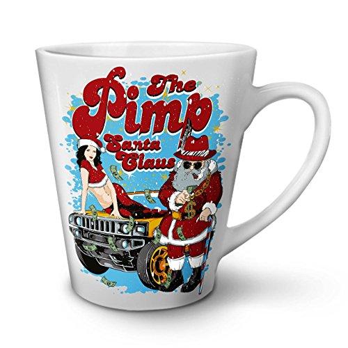 Weihnachtsmann Claus Heiß Weihnachten WeißTee KaffeKeramik Kaffeebecher 12 | Wellcoda