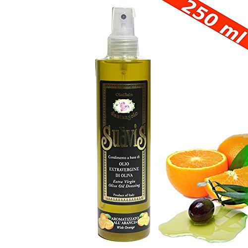 Olio extravergine di oliva spray aromatizzato arancia di sicilia d'oliva extra