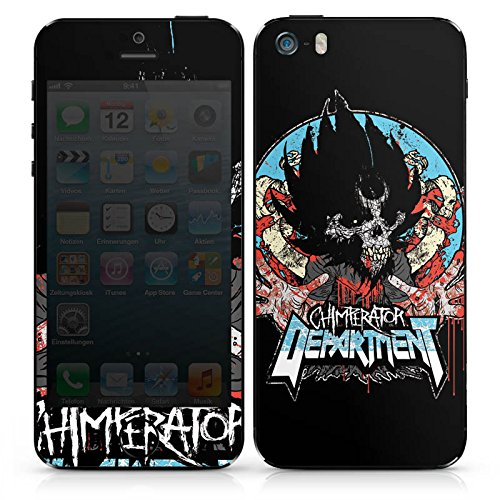 Apple iPhone 4s Case Skin Sticker aus Vinyl-Folie Aufkleber Chimperator Fanartikel Merchandise Emblem DesignSkins® glänzend
