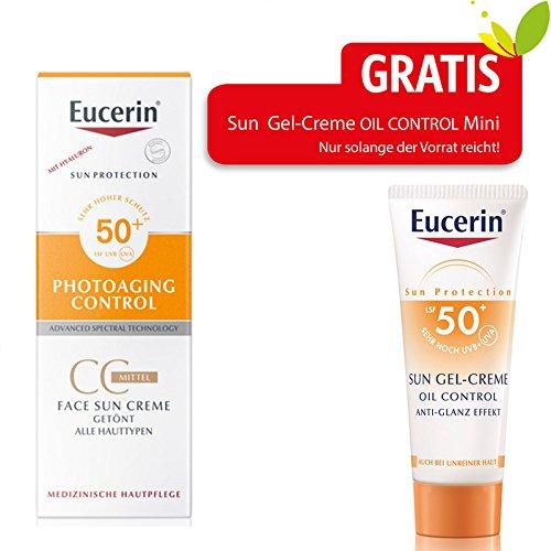 Eucerin Sun Cc Creme getö 50 ml