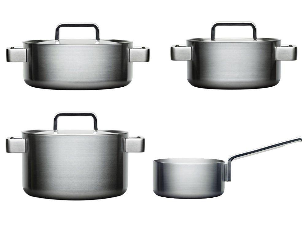 Iittala Töpfe iittala tools topfset 4 teilig edelstahl kasserolle ohne deckel