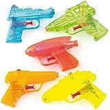 Pistole ad Acqua Trasparenti da Regalare alle Feste dei Bambini (confezione da 10)