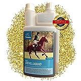 EMMA ⭐ Teufelskralle Liquid fürs Pferd Flüssig Pferdefutter Zusatzfutter für die Gelenke I für Beweglichkeit & Gelenkpflege der Pferde I auch für Senioren 1 Liter